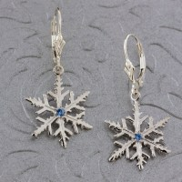 Sterling Silver Snowflake Earrings | Breckenridge Jewelers