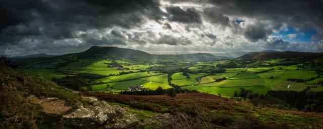 creative wales landscape