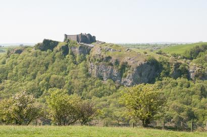 tour to Carreg Cennan castle