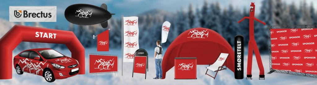 Skiing Arena Brectus Arena Advertising