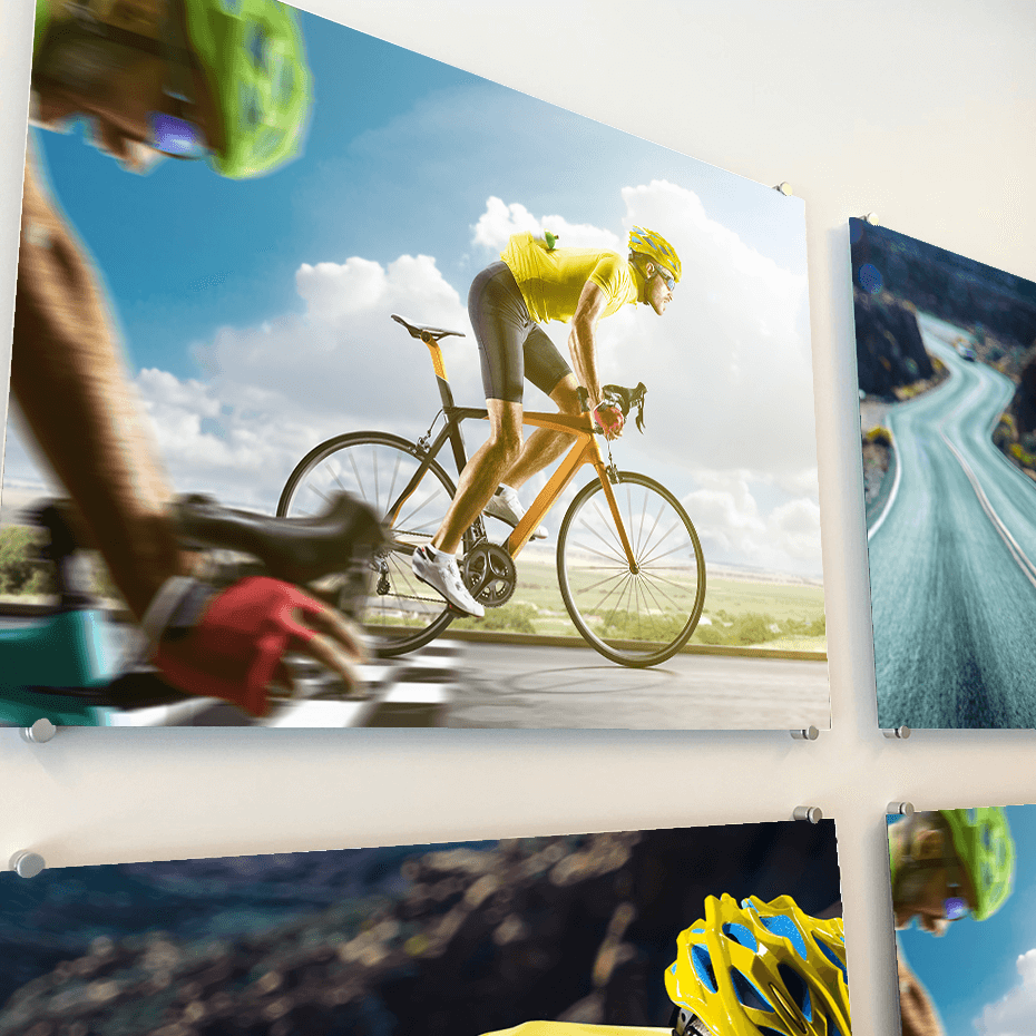 Advertising Sign and Boards- Advertising for cycling races
