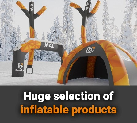 p- Brectus news - inflatable products!