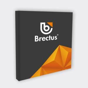 Blindramme og print på lærred fra Brectus