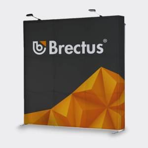 Messevæg Popup Ret fra Brectus