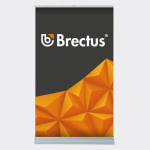 Rollup Messevæg tosidig fra Brectus