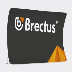 Zipperwall Arch Messevæg fra Brectus