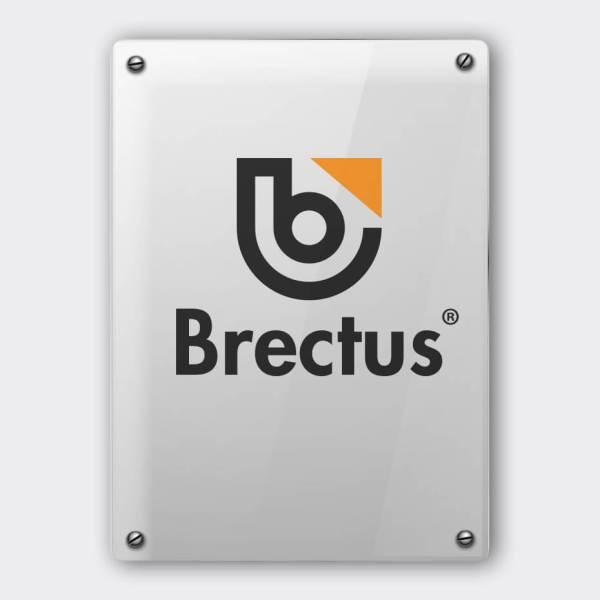 Folie på plexiglas fra Brectus