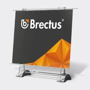 Fritstående Udendørs Banner