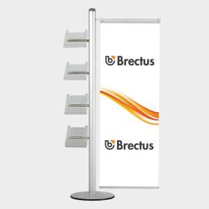 Brectus Brosjyrestativ Multi-Stand