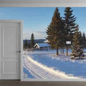 Fototapet fra brectus - Motiv Vinter