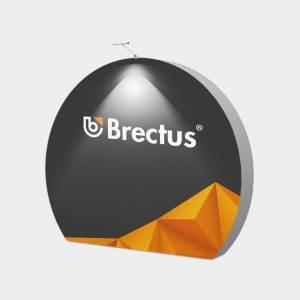 Messevegg 3D Måne fra Brectus