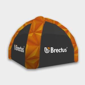 Oppblåsbar reklametelt fra Brectus