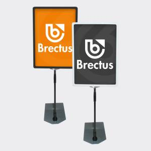Brectus Poster Frame with telescopic pole