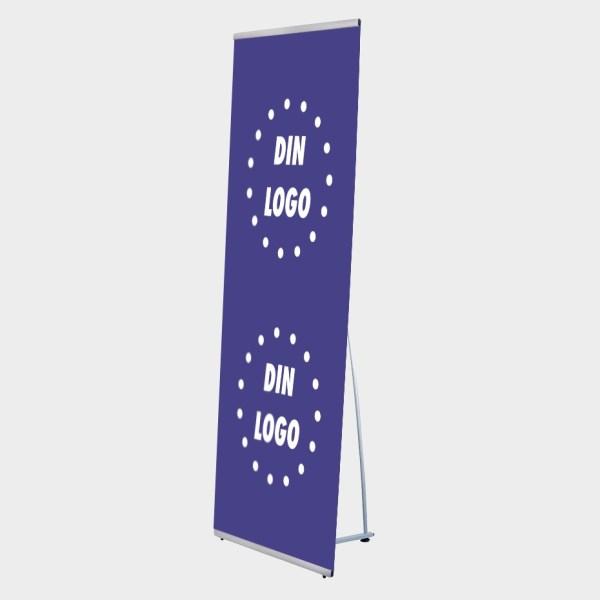 portabelt system, banner, L-banner stand, portable systemet, l banner