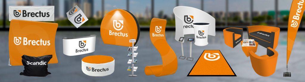Messeutstyr Brectus Arena Reklame