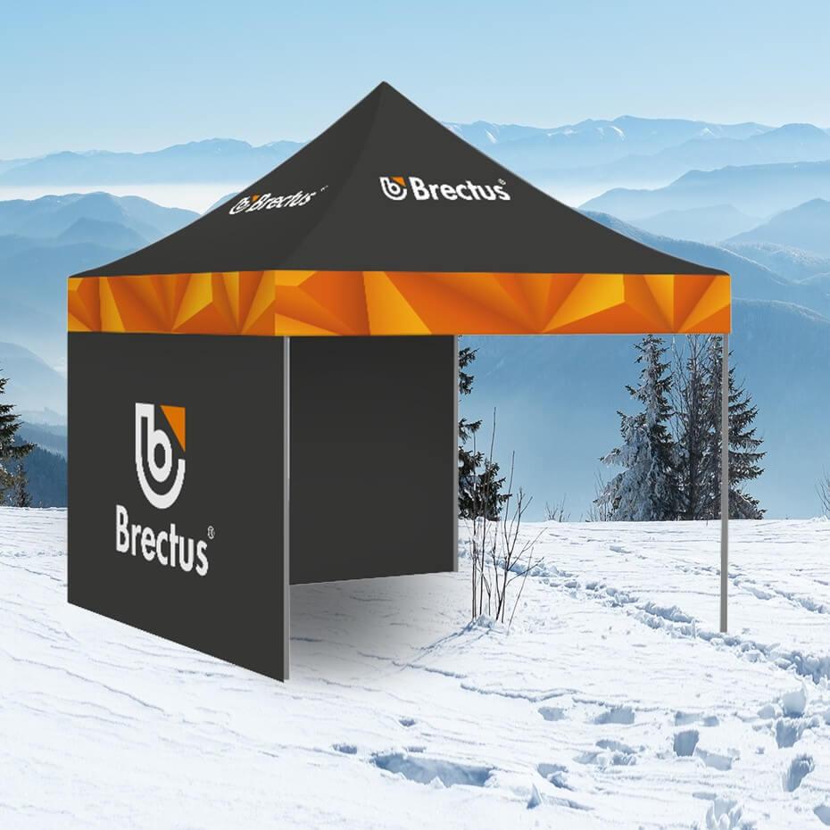 Brectus - Messetelt i vintermiljø