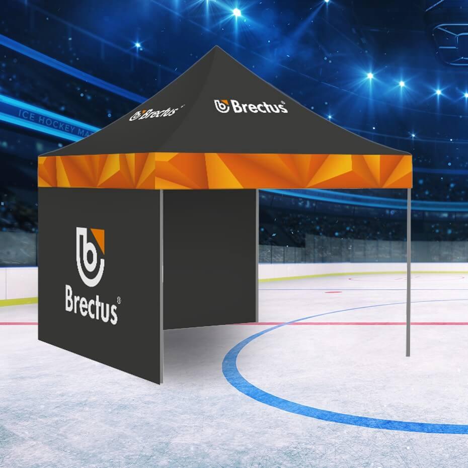 Brectus Messetelt i hockey miljø