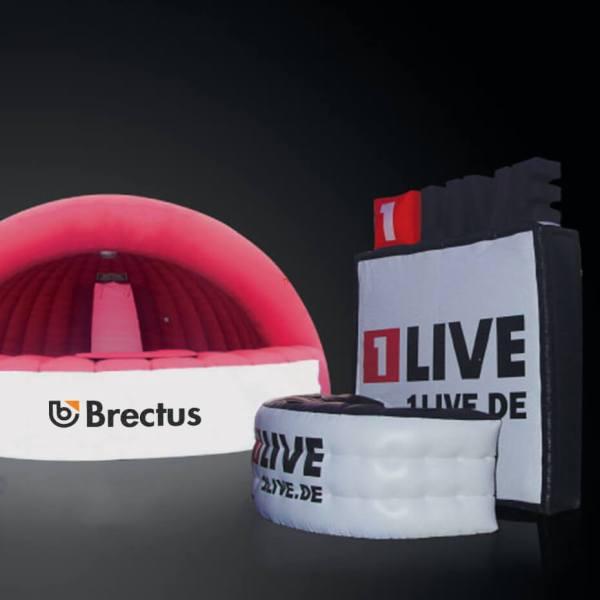 Brectus Oppblåsbare Stands