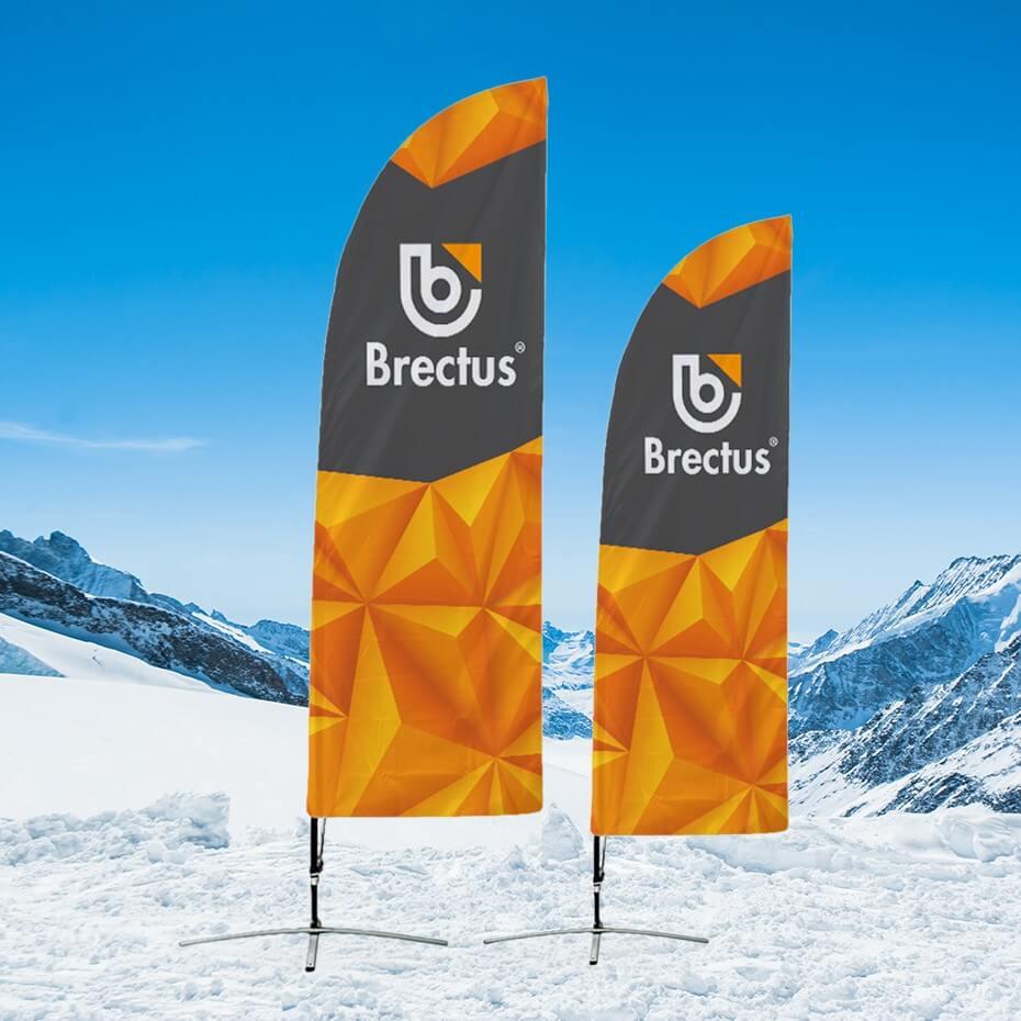 Brectus Beachflagg