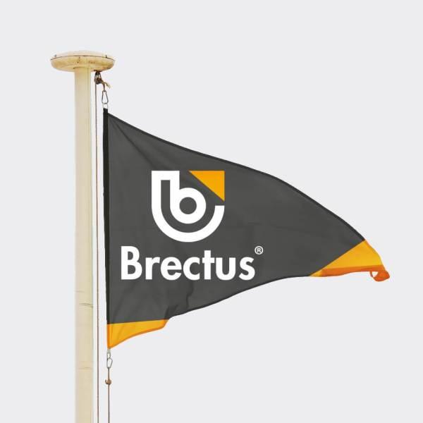 Brectus Vimplar med tryck