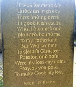 Glencree poem, Patrick Comerford, 2016