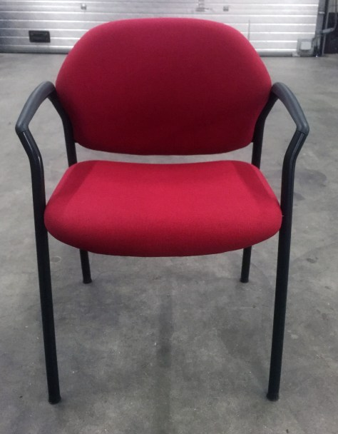 conferentiestoel-4-poot-rood-zwart-5