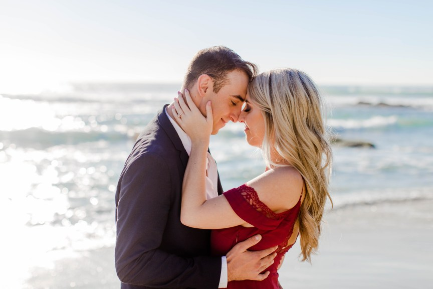 Windansea Beach Engagement Session by Bree and Stephen Photography - San Diego Wedding Photographers | La Jolla Engagement Session by Bree and Stephen