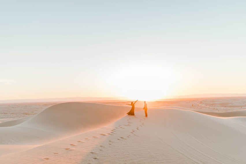 Glamis Sand Dunes Engagement Session | California Wedding Photography by Bree and Stephen - San Diego Wedding Photographers Bree and Stephen Photography