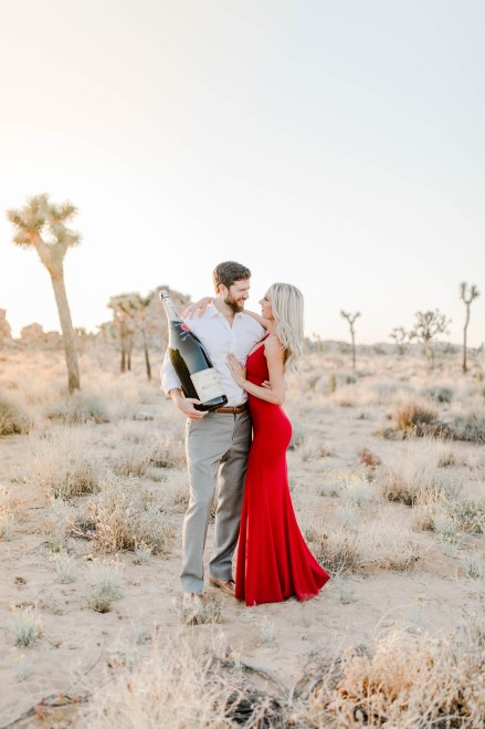 Joshua Tree Engagement Session - Photography by Bree and Stephen Photography - San Diego Wedding Photography