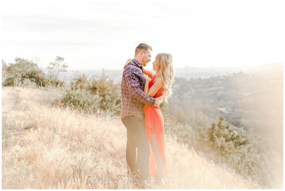 Griffith Observatory Engagement Photography by Bree and Stephen Photography