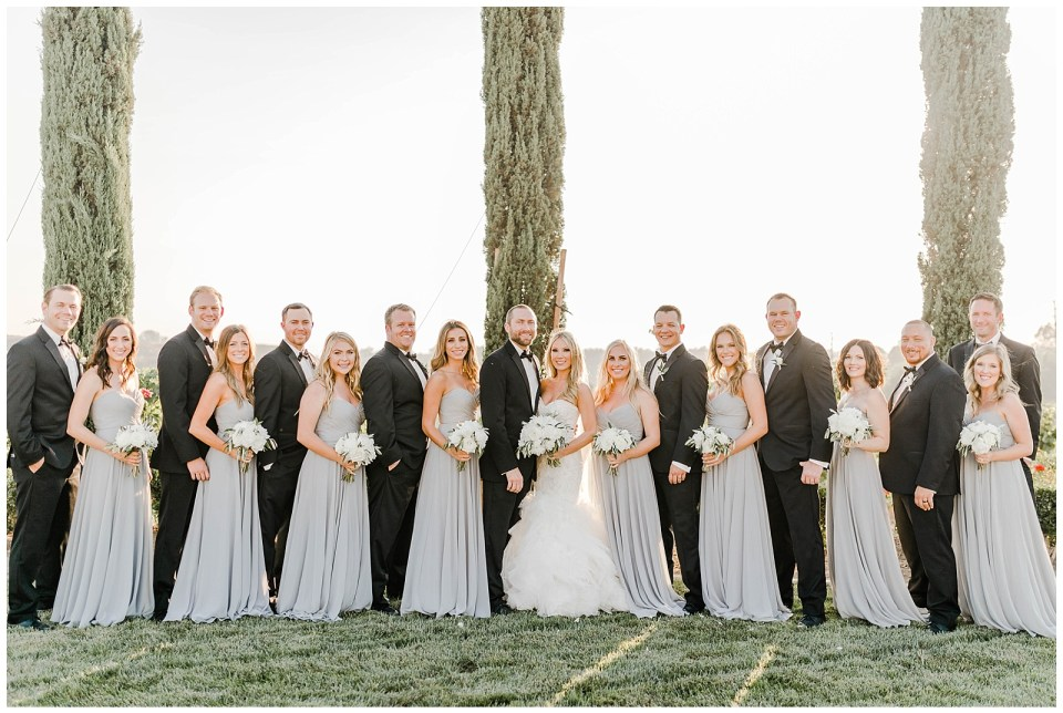 family photos at an avensole winery wedding