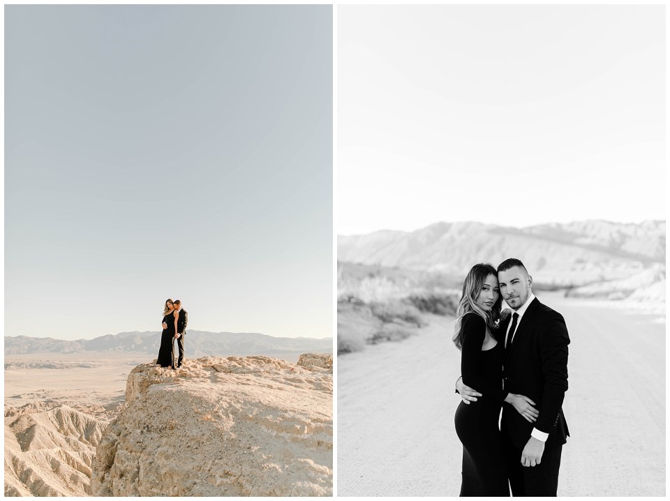 engagement photography session in the anza borrego desert