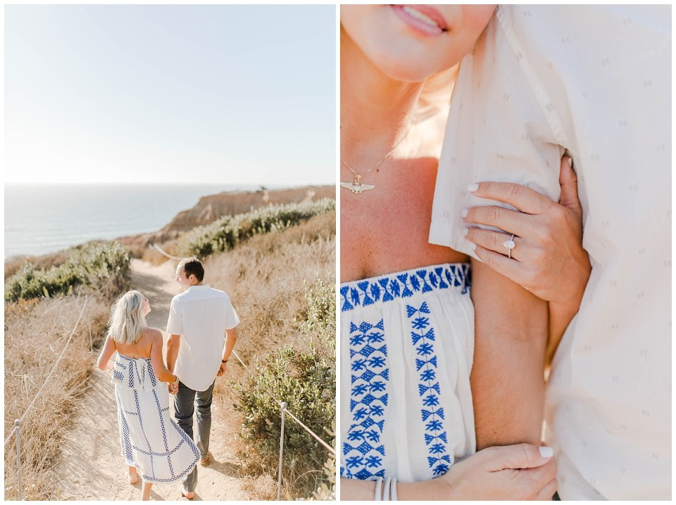 engagement session in torrey pines