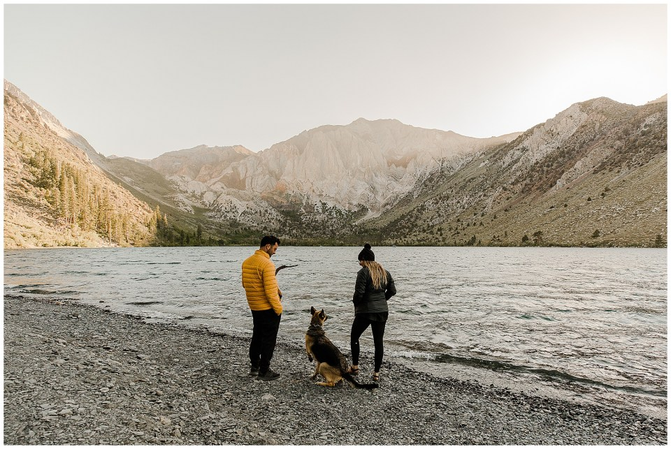 mammoth lakes camping - convict lake - bree and stephen