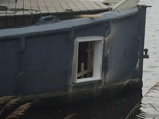Renovatie Woonboot