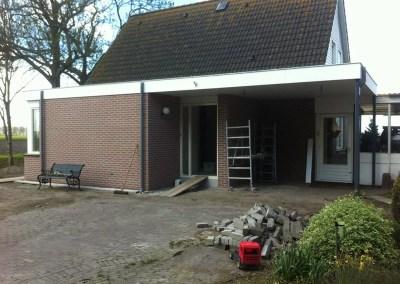 Uitbouw woonhuis