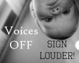 VoicesOff SignLouder DeckBW smsz