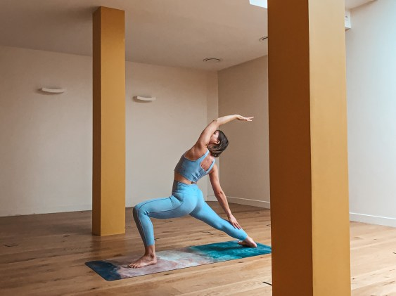 Yoga Sarah Healthy Warriors