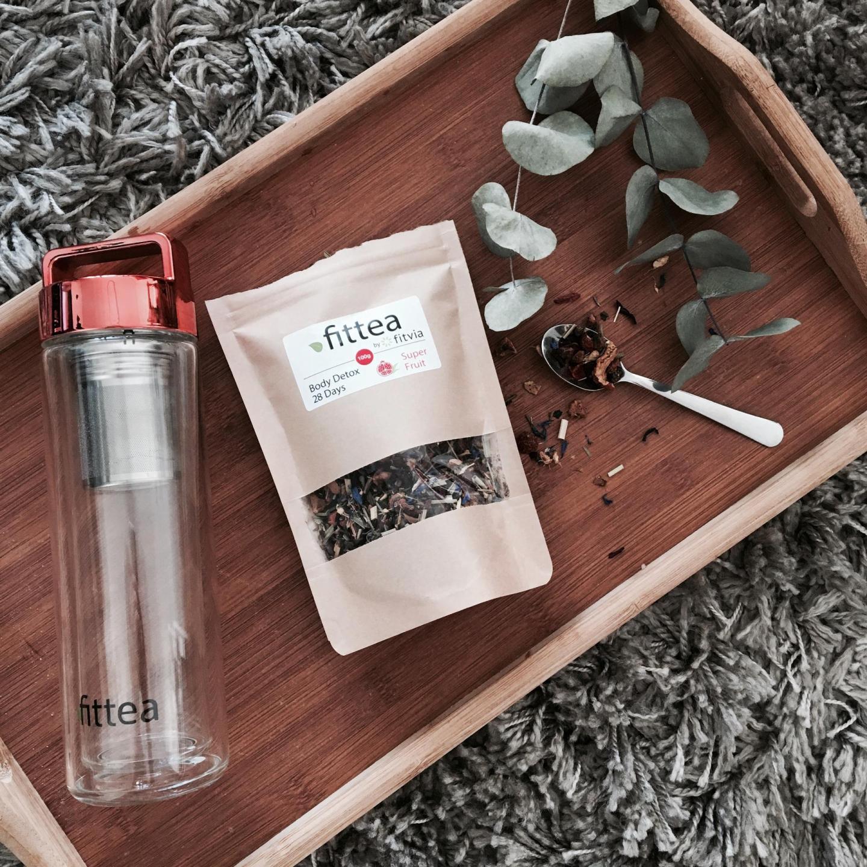 Cure thé détox, j'ai testé le Fit Berry Body Detox Tea de Fittea 1