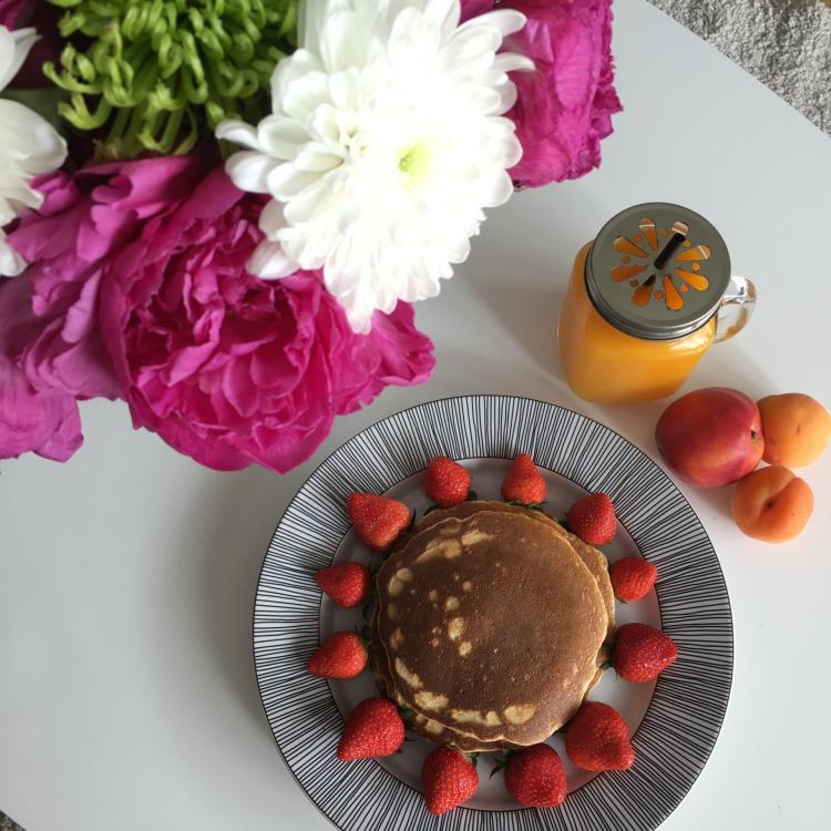Ma recette de pancakes healthy   sains et gourmands