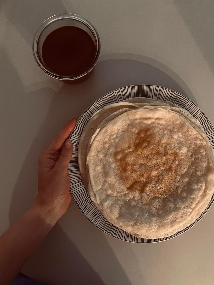 recette crêpe vegan