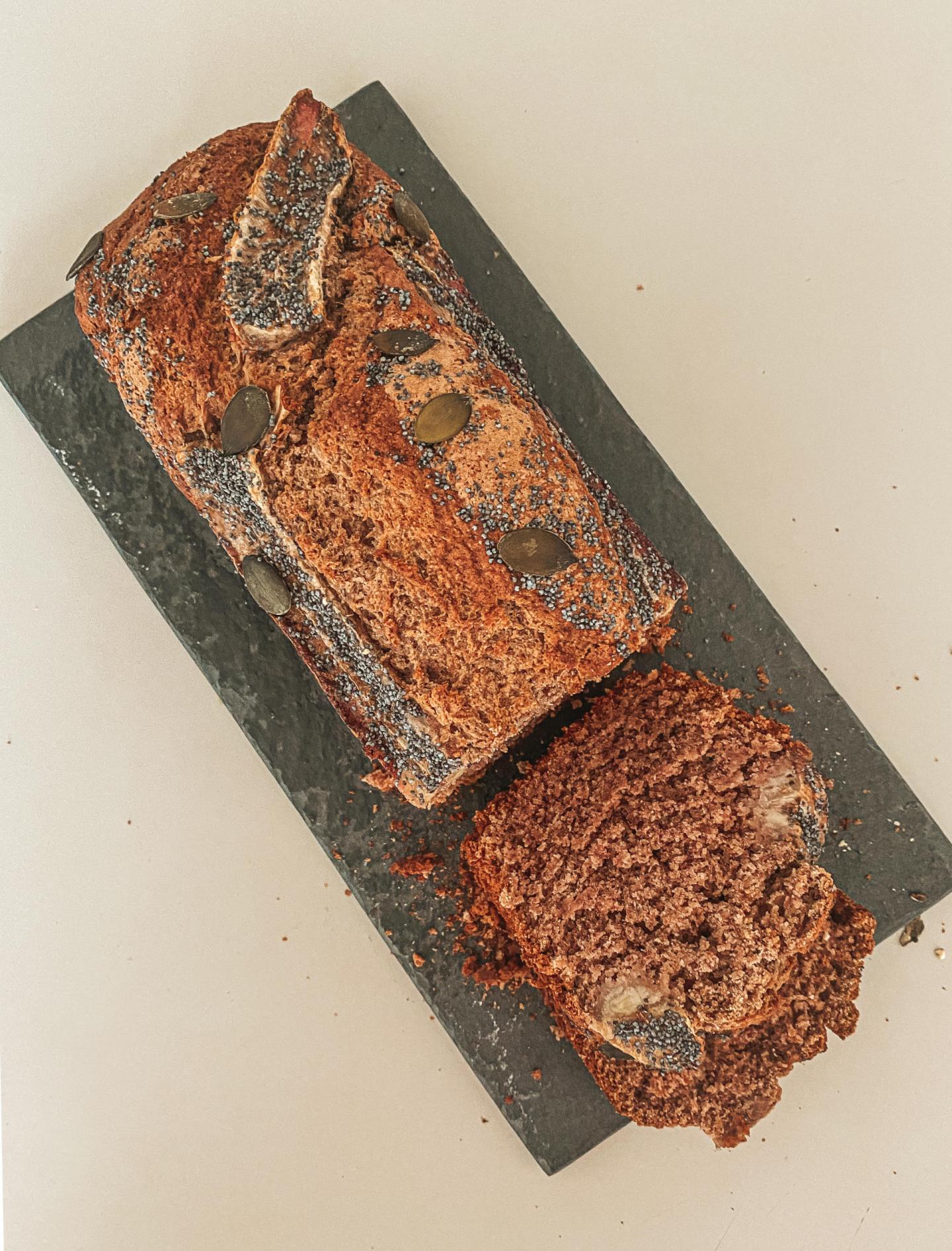 part de banana bread