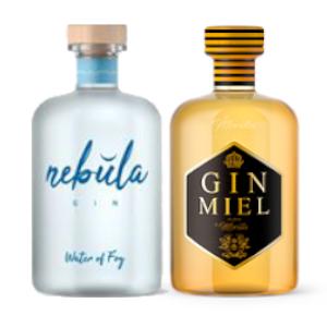 gin nebula y Gin Miel
