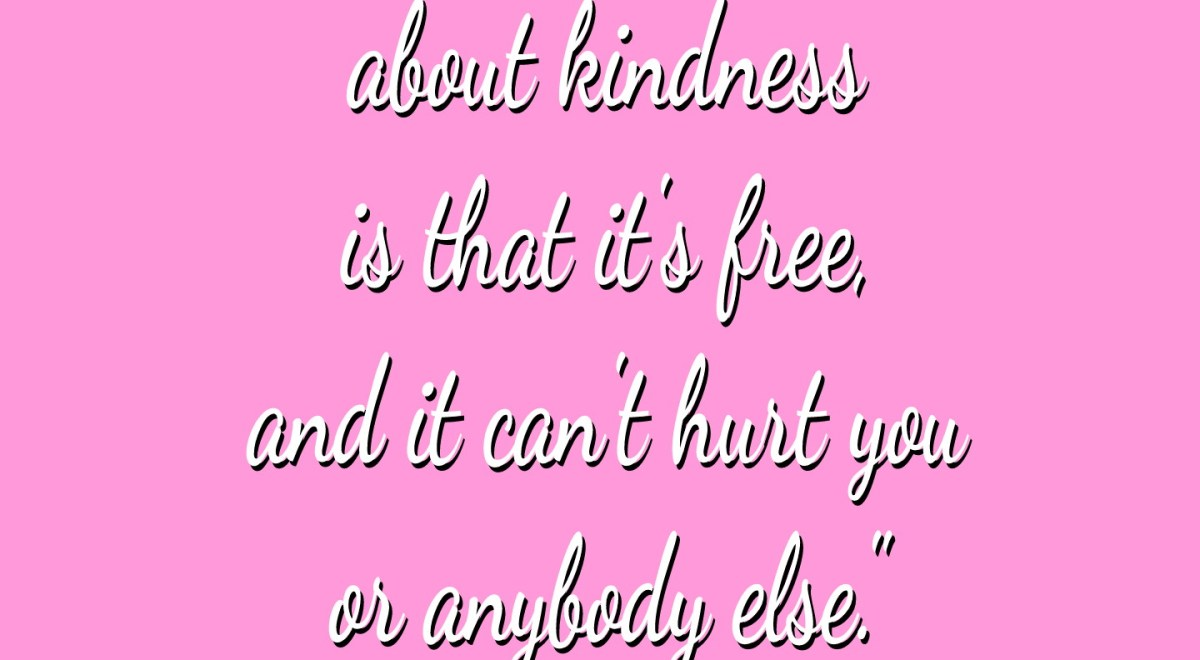Lyricals Lady Gaga quote about kindness