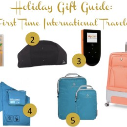 Holiday Gift Guide: First Time International Traveler
