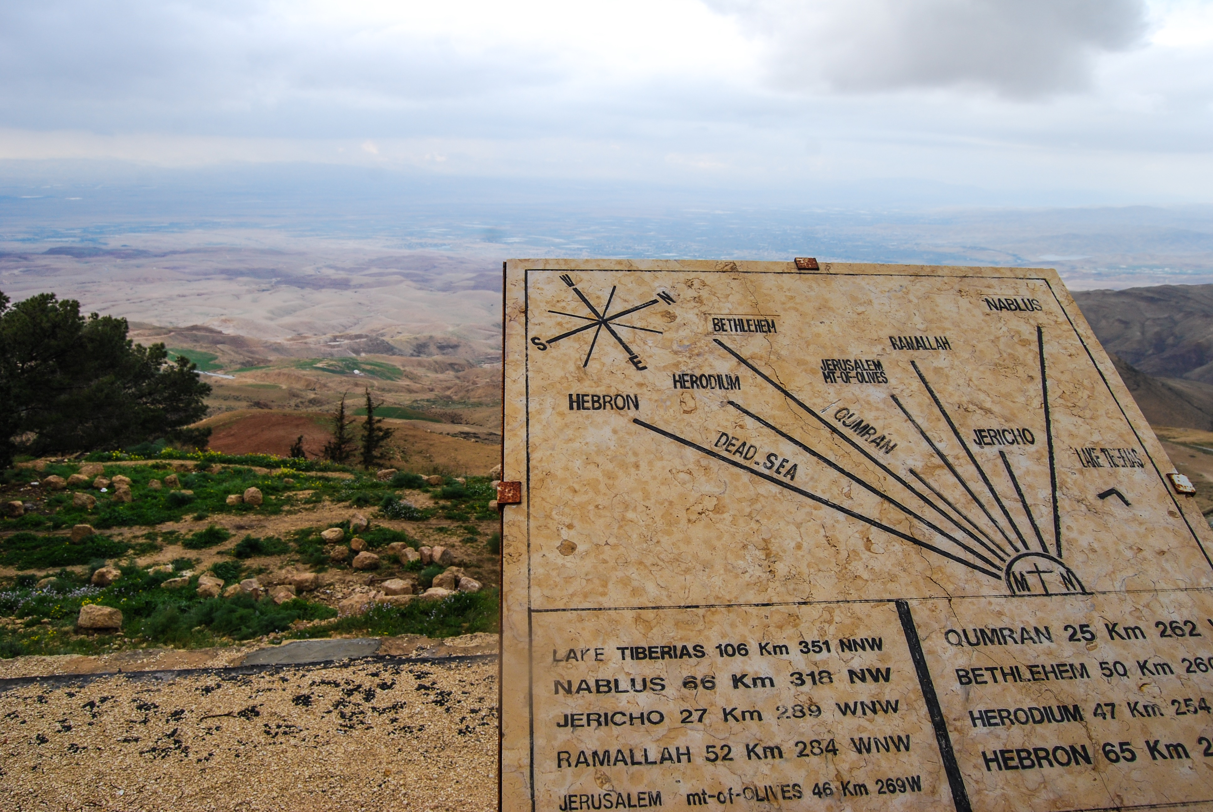 Jordan: Mt Nebo | Breezing Through