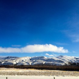 Driving from Boise, Idaho to Logan, Utah