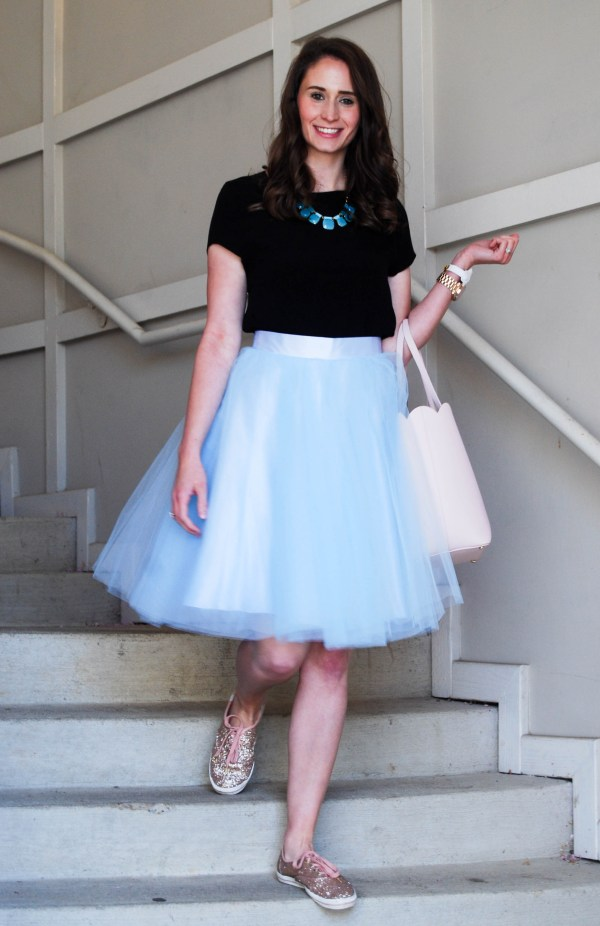 Blue Tulle | Breezing Through 1