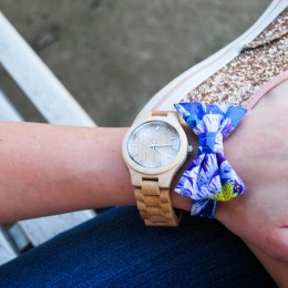 Laid Back Lace and Jord Watches