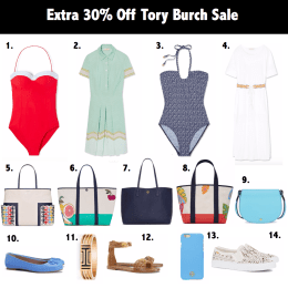 Extra 30% Off Tory Burch Sale
